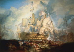 Turner,_The_Battle_of_Trafalgar_(1822)